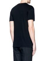 Cotton-cashmere shred T-shirt