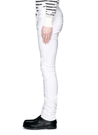细节 - 点击放大 - AMIRI - 褶皱磨损设计牛仔裤