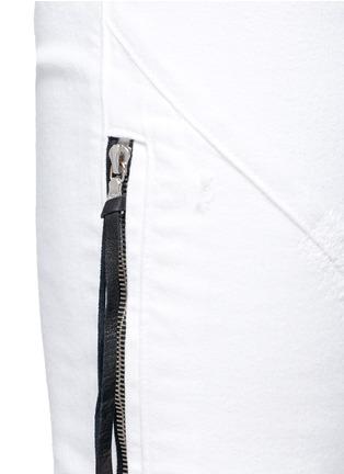 - AMIRI - 褶皱磨损设计牛仔裤