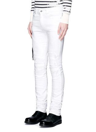 正面 -点击放大 - AMIRI - 褶皱磨损设计牛仔裤