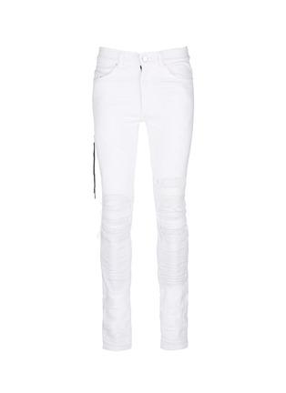 首图 - 点击放大 - AMIRI - 褶皱磨损设计牛仔裤