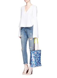 Sophia Webster'Izzy Oceana' print PVC tote bag