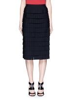 'Perse' Grecian fringe knit skirt