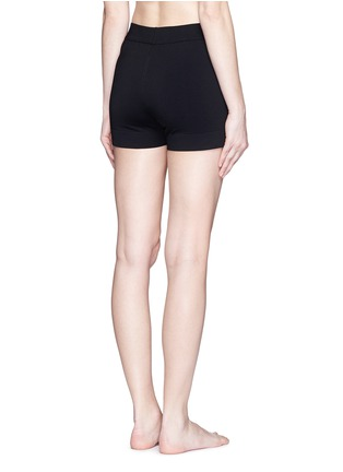 Back View - Click To Enlarge - Alaïa - Dense knit hot pants
