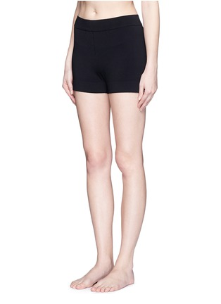 Figure View - Click To Enlarge - Alaïa - Dense knit hot pants