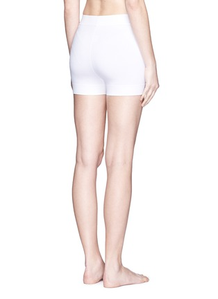 Back View - Click To Enlarge - Alaïa - Stretch knit shorts