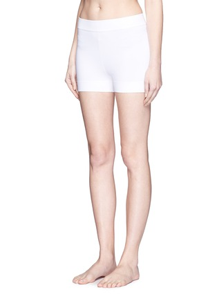 Figure View - Click To Enlarge - Alaïa - Stretch knit shorts