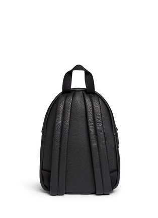 Back View - Click To Enlarge - Rebecca Minkoff - 'Mini M.A.B.' pebbled leather backpack