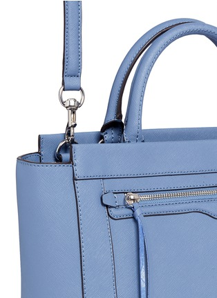 Detail View - Click To Enlarge - Rebecca Minkoff - 'Small Monroe' saffiano leather tote