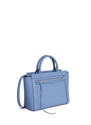 Front View - Click To Enlarge - Rebecca Minkoff - 'Small Monroe' saffiano leather tote