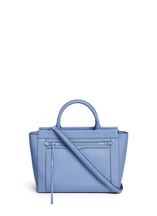 Main View - Click To Enlarge - Rebecca Minkoff - 'Small Monroe' saffiano leather tote