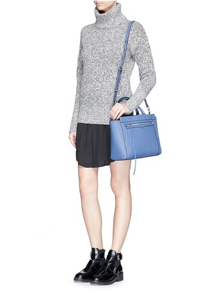 Figure View - Click To Enlarge - Rebecca Minkoff - 'Small Monroe' saffiano leather tote