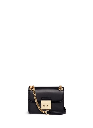 Main View - Click To Enlarge - Michael Kors - 'Sloan Editor' small chain crossbody bag