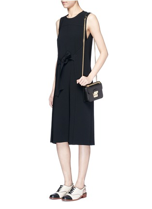 Figure View - Click To Enlarge - Michael Kors - 'Sloan Editor' small chain crossbody bag