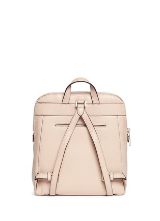 Detail View - Click To Enlarge - Michael Kors - 'Rhea' medium nappa leather backpack