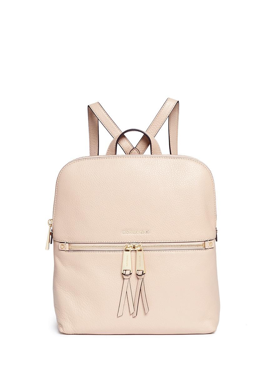 Rhea medium nappa leather backpack by Michael Kors