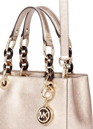 - Michael Kors - 'Cynthia North South' small leather satchel