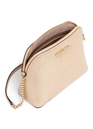 - Michael Kors - 'Cindy' large dome saffiano leather crossbody bag