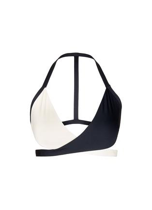 Main View - Click To Enlarge - Vitamin A - 'Camryn' wraparound tie triangle bikini top