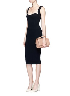 Victoria BeckhamCurve cami fitted dress