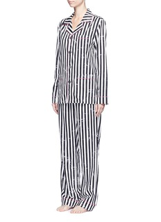 Marc Jacobs Stripe cotton pyjama set
