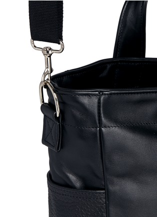 Detail View - Click To Enlarge - Meilleur Ami Paris - 'Petit Ami' suede and leather tote bag