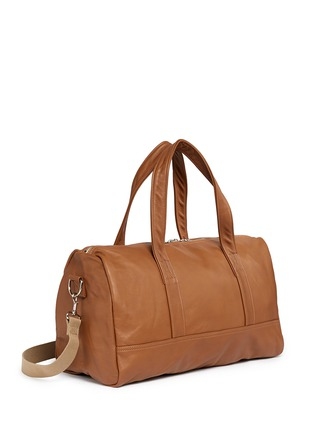 Front View - Click To Enlarge - Meilleur Ami Paris - 'Bel Ami' leather duffle bag