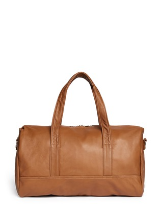 Main View - Click To Enlarge - Meilleur Ami Paris - 'Bel Ami' leather duffle bag