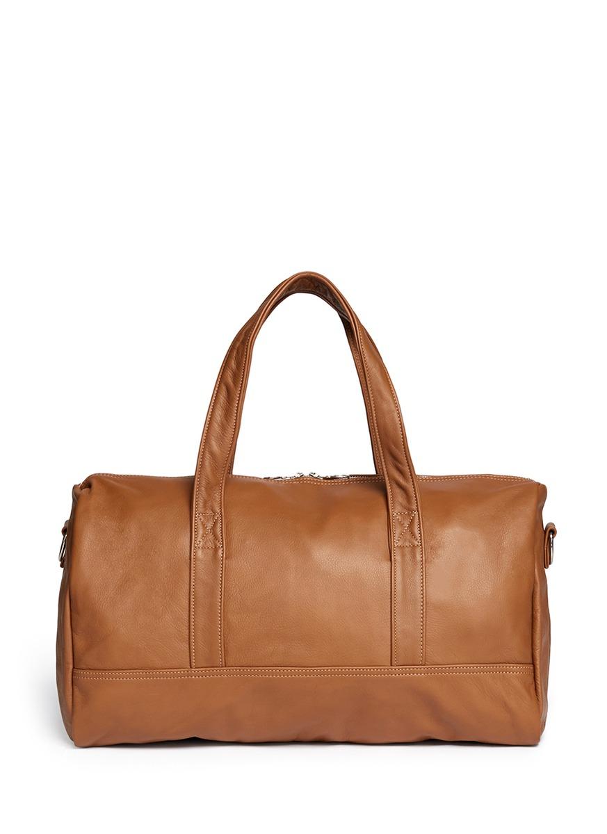 Bel Ami leather duffle bag by Meilleur Ami Paris