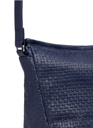 Meilleur Ami Paris - 'Tresse Couture' embossed leather messenger bag
