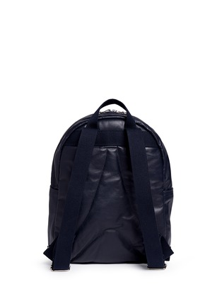 Back View - Click To Enlarge - Meilleur Ami Paris - 'Sac A Dos' leather backpack