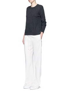 Vince Side split hem cashmere sweater