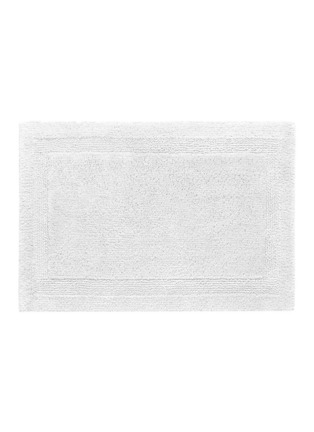 Main View - Click To Enlarge - Abyss - Super Pile small reversible bath mat — White