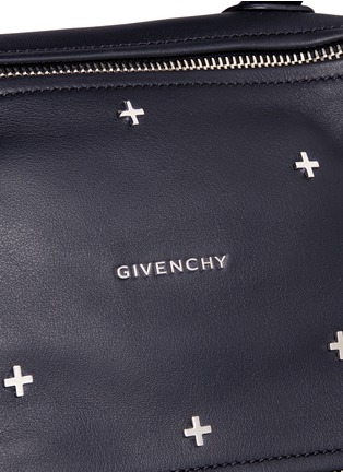 Detail View - Click To Enlarge - Givenchy - 'Pandora' small cross stud leather bag