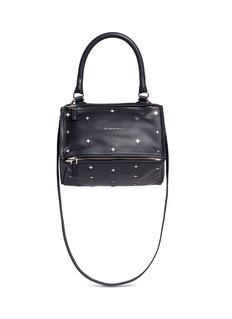 GIVENCHY'Pandora' small cross stud leather bag