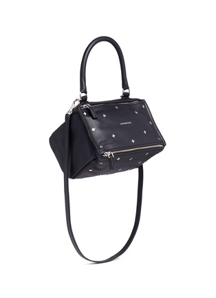 Figure View - Click To Enlarge - Givenchy - 'Pandora' small cross stud leather bag