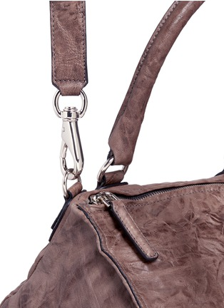 Detail View - Click To Enlarge - Givenchy - 'Pandora' medium Pepe sheepskin leather bag