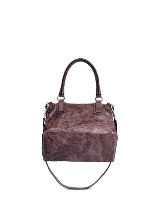 Back View - Click To Enlarge - Givenchy - 'Pandora' medium Pepe sheepskin leather bag