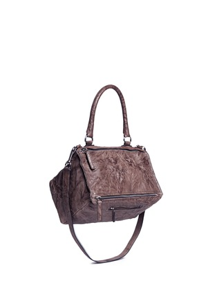 Figure View - Click To Enlarge - Givenchy - 'Pandora' medium Pepe sheepskin leather bag