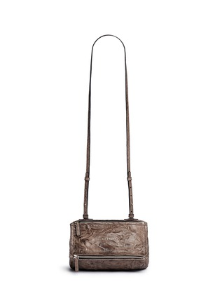 Main View - Click To Enlarge - Givenchy - 'Pandora' mini pepe sheepskin leather bag