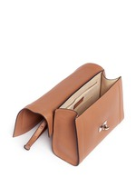 'Shark' small leather shoulder bag