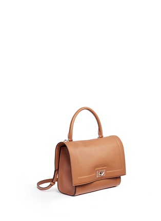 Figure View - Click To Enlarge - Givenchy - 'Shark' small leather shoulder bag