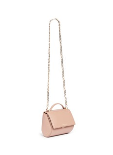 Givenchy 'Pandora Box' mini calfskin leather chain bag