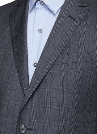 Detail View - Click To Enlarge - Lanvin - 'Attitude' speckled check wool suit