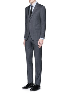 Lanvin 'Attitude' speckled check wool suit