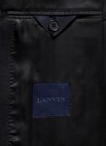 'Evolution' silk jacquard tuxedo blazer