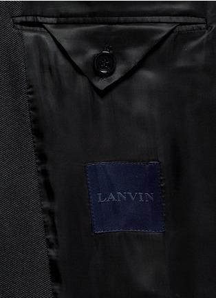 - Lanvin - Slim fit metallic jacquard tuxedo blazer