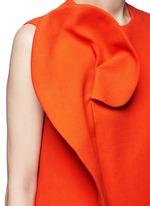 Floral pin fold textured dress