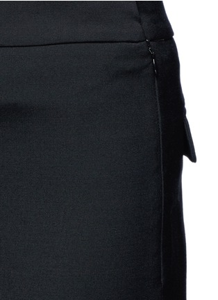 Detail View - Click To Enlarge - Ellery - 'Sinous' cropped flared pants