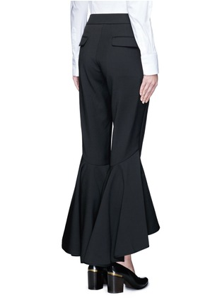 Back View - Click To Enlarge - Ellery - 'Sinous' cropped flared pants